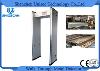 China 0-999 Sensitivity walk through gate metal detector with 33  optional network proveedor