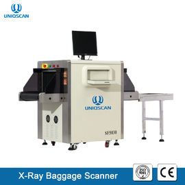 X Ray Security Baggage Scanner Dual Energy 40AWG With 19 Inch LCD Color Display